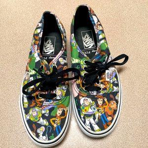 Vans x Toy Story black pixar 8.5W 7M shoes